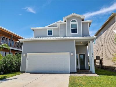Port Aransas TX Single Family Home For Sale: $519,000
