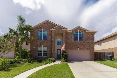 Corpus Christi Single Family Home For Sale: 3913 Accrington Ct