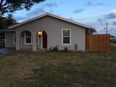 Aransas Pass Single Family Home For Sale: 259 S 9th St