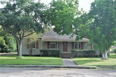 Corpus Christi Single Family Home For Sale: 1110 Florida Ave