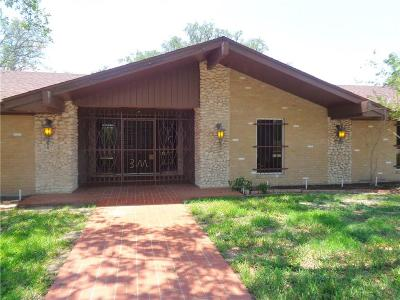 Kingsville Single Family Home For Sale: 4000 S Brahma Blvd