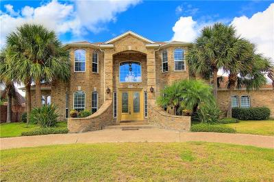 Corpus Christi Single Family Home For Sale: 1 Bar Le Doc W Dr
