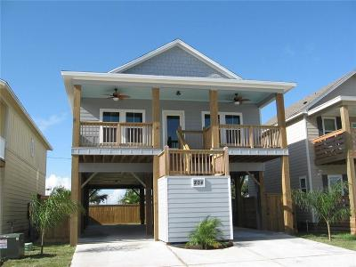Port Aransas TX Single Family Home For Sale: $364,500