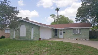 Kingsville Single Family Home For Sale: 1706 Mildred St