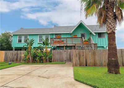 Port Aransas TX Single Family Home For Sale: $379,000