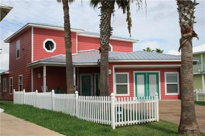 Port Aransas Single Family Home For Sale: 179 Five Dove Cr