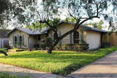 Corpus Christi Single Family Home For Sale: 4513 Cobblestone