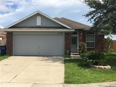 Corpus Christi Single Family Home For Sale: 6530 Orangetip Dr
