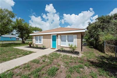 Aransas Pass Single Family Home For Sale: 204 N 8th St