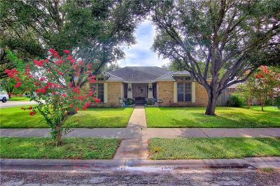 Corpus Christi Single Family Home For Sale: 11429 Woodway Creek