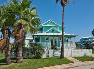 Port Aransas Single Family Home For Sale: 185 Beachwalk
