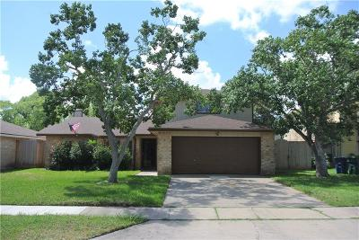 Corpus Christi Single Family Home For Sale: 6309 Seamist Dr