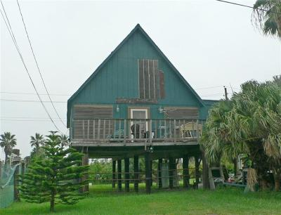 Port Aransas TX Single Family Home For Sale: $175,000