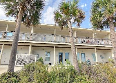 Port Aransas Condo/Townhouse For Sale: 604 Beach Access Road 1-A 20-C #20
