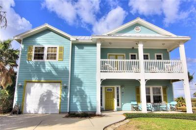 Port Aransas Single Family Home For Sale: 118 Mustang Royale