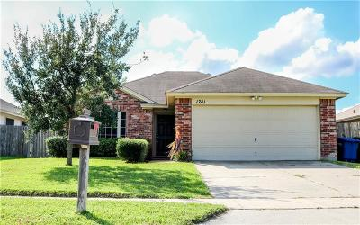 Single Family Home For Sale: 1741 Coronado Trai