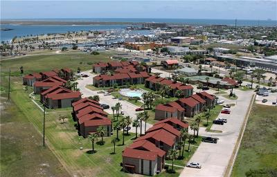 Port Aransas Condo/Townhouse For Sale: 230 Cut Off Rd, #112 Aransas Harbors