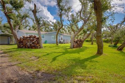 Aransas Pass Single Family Home For Sale: 2352 A-1 Hill Road