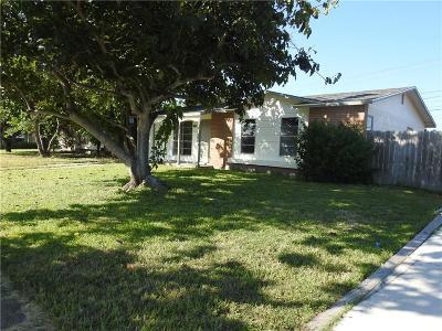 Corpus Christi TX Single Family Home For Sale: $129,750