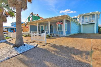 Port Aransas TX Single Family Home For Sale: $489,000