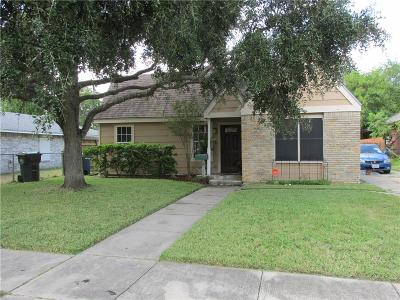 Corpus Christi TX Single Family Home For Sale: $139,500