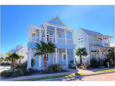 Port Aransas TX Single Family Home For Sale: $835,000