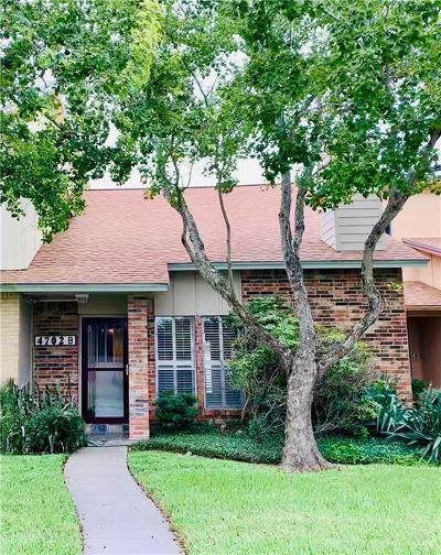 Corpus Christi Condo/Townhouse For Sale: 4702 Cedar Pass Dr #6B