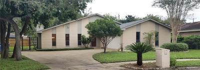 Corpus Christi TX Single Family Home For Sale: $184,500