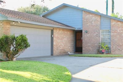 Corpus Christi Single Family Home For Sale: 4145 Mountain View Dr