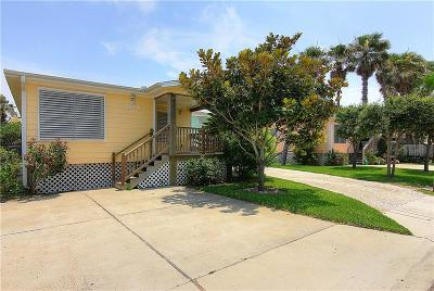 Port Aransas Condo/Townhouse For Sale: 717 9th #A