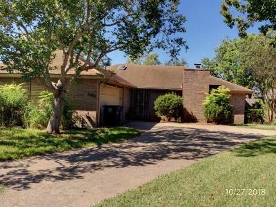 Corpus Christi TX Single Family Home For Sale: $124,500