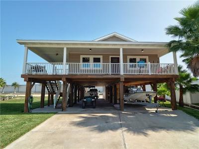 Port Aransas Single Family Home For Sale: 610 Dolphin Circ