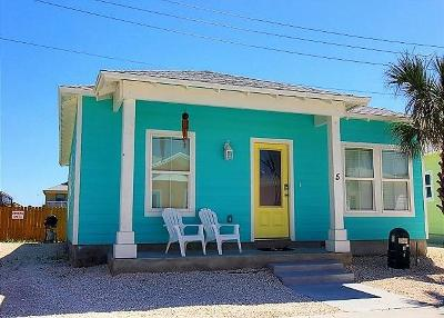 Port Aransas TX Single Family Home For Sale: $299,900