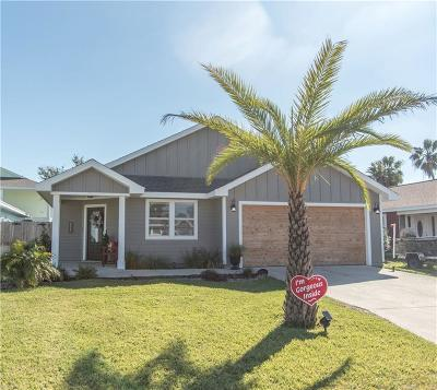 Port Aransas Single Family Home For Sale: 525 Lighthouse Channel