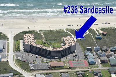 Port Aransas Condo/Townhouse For Sale: 800 Sandcastle Dr #236