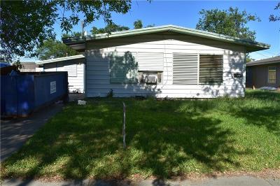 Corpus Christi TX Single Family Home For Sale: $60,000