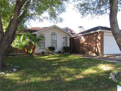 Corpus Christi Single Family Home For Sale: 6105 Cumberland Circ