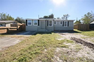 Corpus Christi Single Family Home For Sale: 4622 Crystal Lane