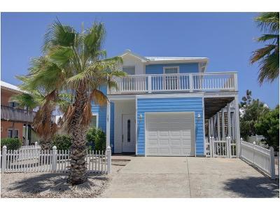 Port Aransas TX Single Family Home For Sale: $537,500