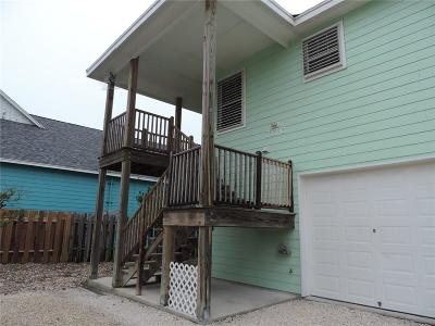 Port Aransas Condo/Townhouse For Sale: 717 Ninth Street #C