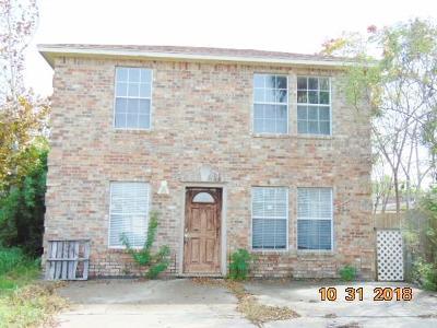 Corpus Christi TX Single Family Home For Sale: $119,600