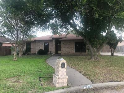 Kingsville Single Family Home For Sale: 5454 Cypress Cr