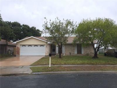 Corpus Christi Single Family Home For Sale: 706 Alhambra Dr