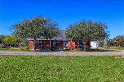 Single Family Home For Sale: 3750 Flour Bluff Dr