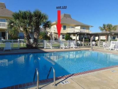 Port Aransas Condo/Townhouse For Sale: 4901 State Highway 361 #123