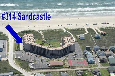 Port Aransas Condo/Townhouse For Sale: 800 Sandcastle Dr #314