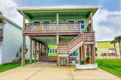 Port Aransas Single Family Home For Sale: 413 Paradise Pointe Dr