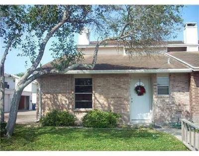 Corpus Christi TX Condo/Townhouse For Sale: $119,500