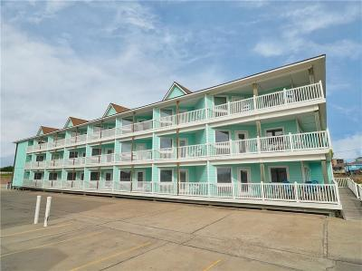 Port Aransas Condo/Townhouse For Sale: 1924 On The Beach #523