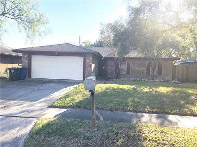 Corpus Christi TX Single Family Home For Sale: $154,900